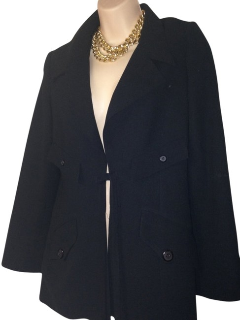 Barneys New York Size 6 Black Blazer