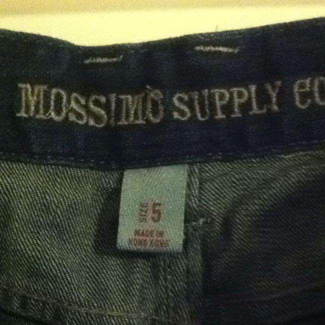 Mossimo Supply Co. Trouser/Wide Leg Jeans-Dark Rinse