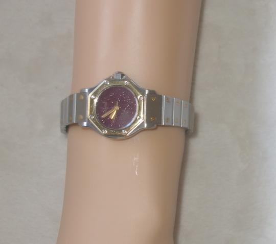 Cartier Cartier Santos Octagon Stainless Steel 18k Yellow Gold Two Tone 25mm Watch