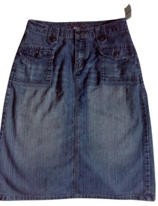 APOLLO JEANS Vintage Skirt blue jean