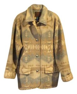 Ralph Lauren Southwest print beiges and grays Jacket