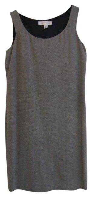 Preload https://img-static.tradesy.com/item/9027040/anne-klein-blacktan-geometric-sleeveless-pattern-above-knee-workoffice-dress-size-6-s-0-2-650-650.jpg