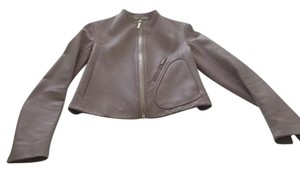 The Row Leather Style 8079 Lambskin Motorcycle Jacket