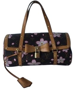 Louis Vuitton Floral Lv Satchel in Cherry Blossom Monogram