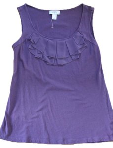Ann Taylor LOFT Blouse Top purple