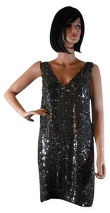 Alexia Admor Sequined Small Silk Dress