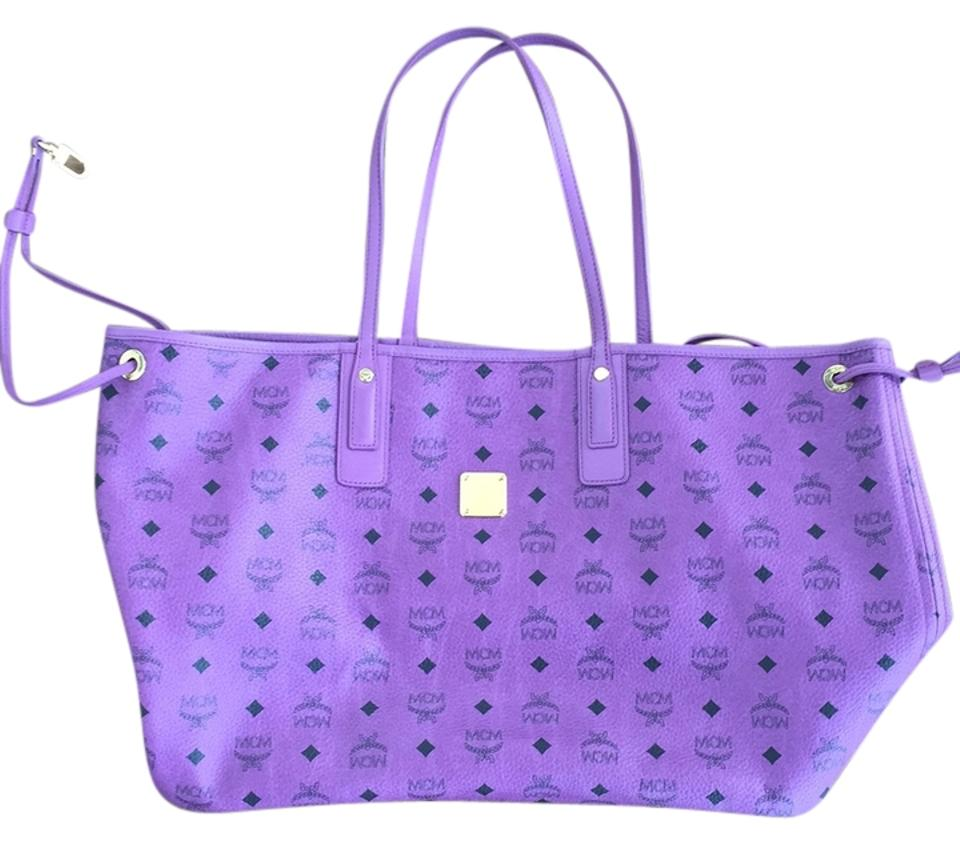 Mcm Purple Diaper Bag
