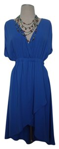 BE Stitched short dress Blue on Tradesy