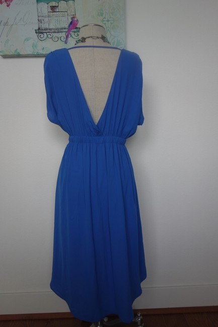 BE Stitched short dress Blue Summer Summer on Tradesy