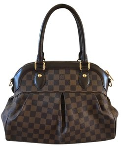 Louis Vuitton Trevi Damier Ebene Handbag Pm Shoulder Bag