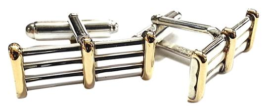 Preload https://img-static.tradesy.com/item/9028441/tiffany-and-co-co-vintage-rare-sterling-silver-14-karat-yellow-gold-cufflinks-0-3-540-540.jpg