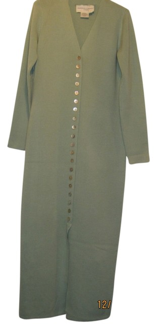 Preload https://item1.tradesy.com/images/adrienne-vittadini-sage-green-vintage-wool-mother-of-pearl-buttons-long-casual-maxi-dress-size-10-m-9029110-0-1.jpg?width=400&height=650