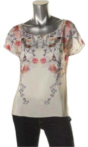 Amanda Uprichard Top Ivory/floral