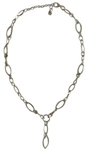 Sterling Chain Link Necklace (15.5-17.5