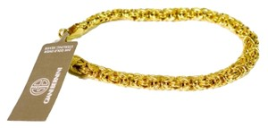 Giani Bernini Giani Bernini 24k Over Sterling Silver Bizantine Bracelet