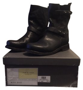 Rag & Bone Motorcycle Boot Black Boots
