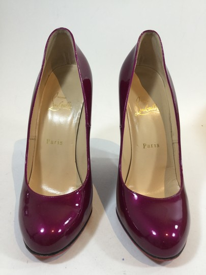 Christian Louboutin Cranberry Wedges