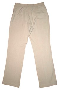 CALVIN KLEIN Dress Size 2 Slacks Modern Fit Leg Lowrise Cute Business Career P529 Straight Pants BEIGE