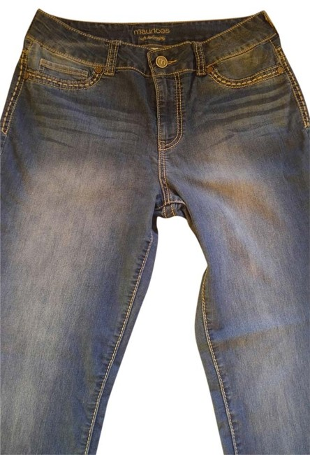 Preload https://item3.tradesy.com/images/maurices-blue-jeggings-size-35-14-l-9031867-0-2.jpg?width=400&height=650