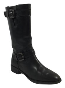 Tod's Leather Mid-calf Black Boots