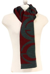 Gucci Gucci Signature 100% Wool Made in Italy Unisex Scarf