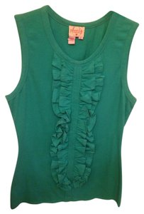 Plenty by Tracy Reese Top Dark/Mid green