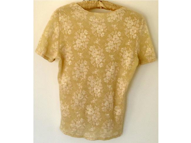 Nicole Lace Stretchy Top cream