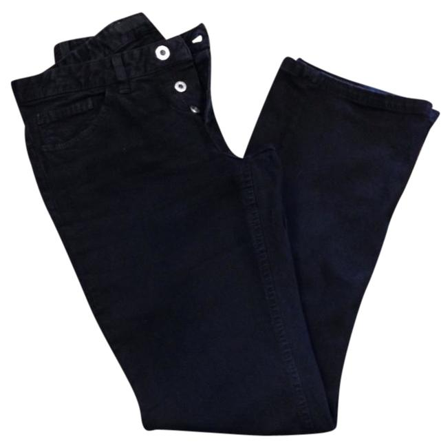 Preload https://item3.tradesy.com/images/black-and-brown-straight-leg-pants-size-8-m-29-30-903332-0-0.jpg?width=400&height=650