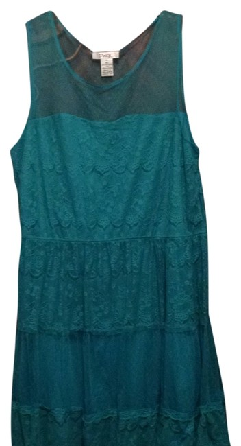 Preload https://item2.tradesy.com/images/emerald-green-turqouise-knee-length-short-casual-dress-size-22-plus-2x-9033676-0-2.jpg?width=400&height=650