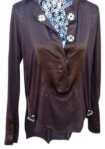Thomas Wylde Top CHOCOLATE/BROWN