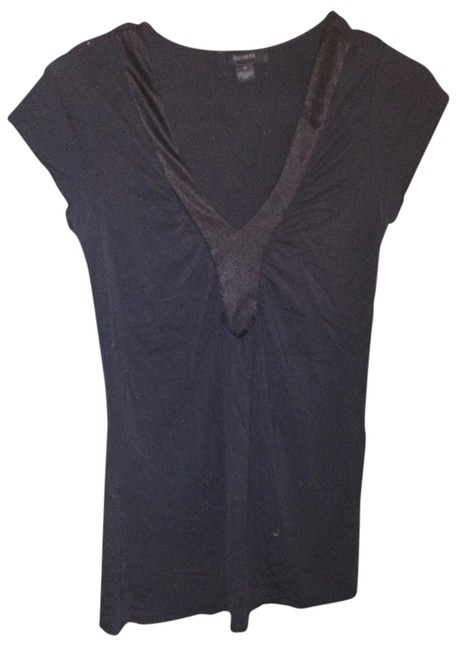 Express Sexy Lowcut Comfortable Top Black