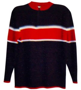Norton McNaughton Stretchy Color-blocking Sweater