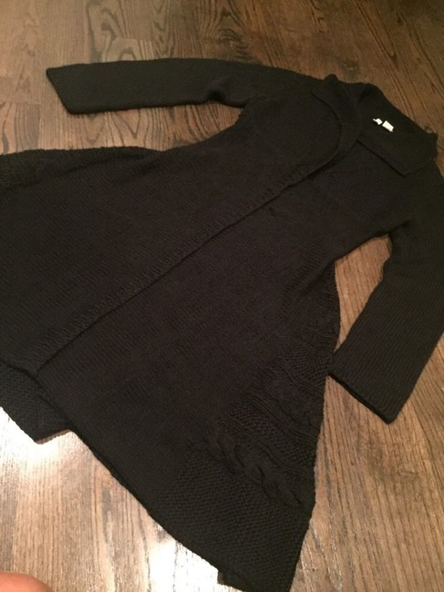 Anthropologie Moth Cue Emm Shooting Party Sweatercoat Trench Coat