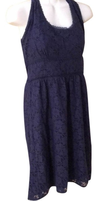 Preload https://img-static.tradesy.com/item/9035260/laundry-by-shelli-segal-navy-lined-lace-halter-medium-above-knee-short-casual-dress-size-10-m-0-2-650-650.jpg
