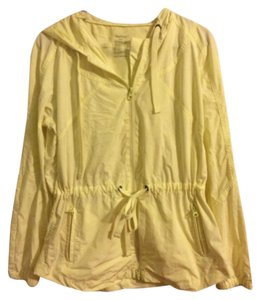 Gap Rain Rain Neon Yellow Jacket