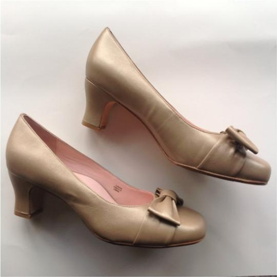 Taryn Rose Gold Pumps