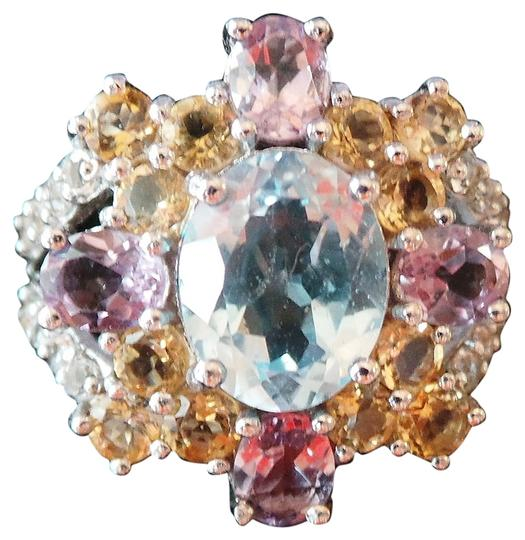 Preload https://item1.tradesy.com/images/unknown-natural-sky-blue-topaz-amethyst-citrine-white-topaz-925-sterling-silver-ring-903675-0-5.jpg?width=440&height=440