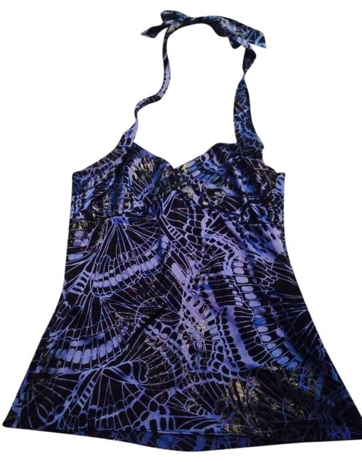 Marciano Blue Halter Top