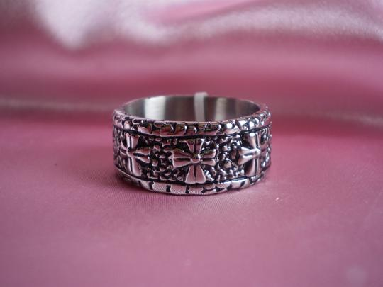 Other Stainless Steel Crosses Ring (size 12)
