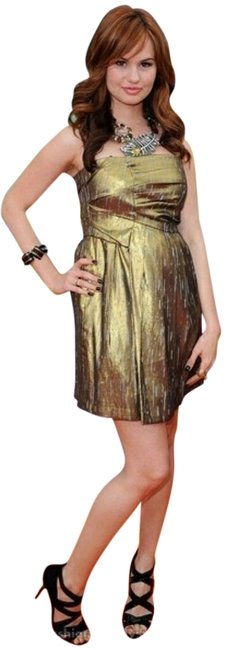 Preload https://item4.tradesy.com/images/bcbgeneration-gold-strapless-lame-above-knee-cocktail-dress-size-10-m-9045703-0-3.jpg?width=400&height=650