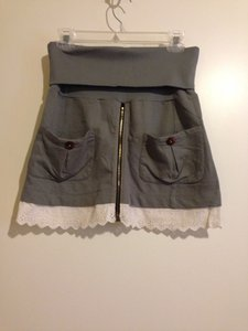 Scrapbook Skirt Olive Green