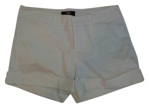 Mossimo Cuffed Shorts White