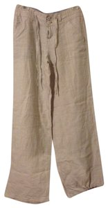 Love Tree Linen Relaxed Pants Light Khaki