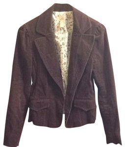 Forever 21 Chocolate Brown Jacket