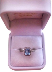 Other Aquamarine and Diamond Ring