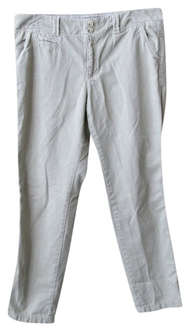 American Eagle Outfitters Chino Capris Sand