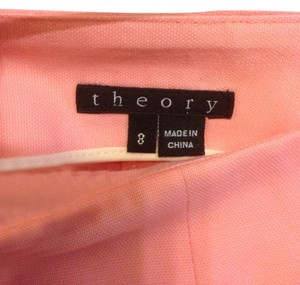 Theory Shorts Pink Neon