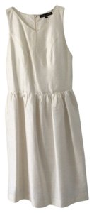 Mamie + James Silk Taffeta Racer-back Dress