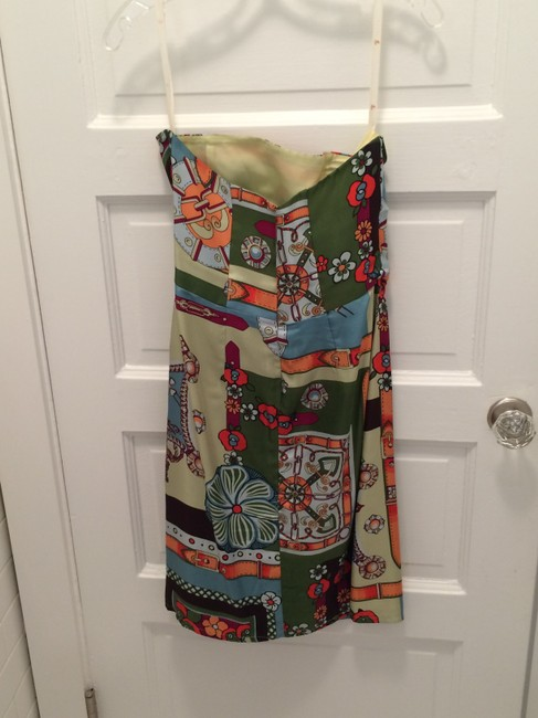 Printed Maxi Dress by Helen Wang Strapless