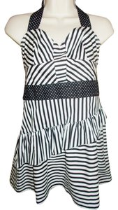 Mixology short dress Black/White on Tradesy
